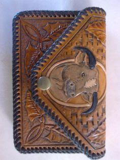 peněženka-ruční řezba