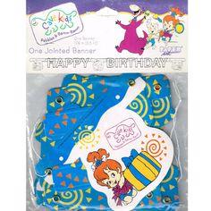 Flintstones Vintage Cave Kids Banner (1ct)