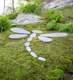 Decorative Stones Dragonfly Garden Accent