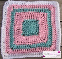 Knot Your Nana's Crochet: Granny Square CAL (Week 21)
