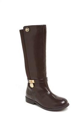 MICHAEL Michael Kors 'Parson' Riding Boot (Toddler, Little Kid & Big Kid) $48.95 thestylecure.com
