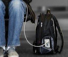Electronics Charging Backpack