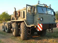 Beast on Wheels. Maz 537