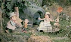 Trip down memory lane, The Pogles of Pogles Wood, Pippin, Tog and Mr & Mrs Pogle, takes me back to the 1960's.