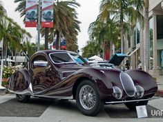 Rodeo Drive Concours d'Elegance car show is a Father's Day tradition in Beverly Hills.