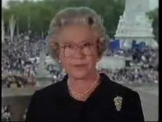 The Queen's Tribute to Princess Diana, Princess of Wales - YouTube