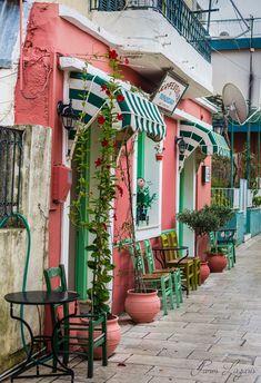Coffee shop, Lefkada, Greece