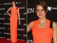 Shailene Woodley In Roksanda Ilincic – 'Divergent' Mexico City Premiere
