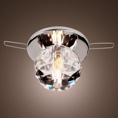 Led for can light holes modern contemporary crystal pendant lamp ceiling mozeypictures Images
