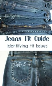 Jeans Fit Guide: Identifying Fit Issues | Melly Sews