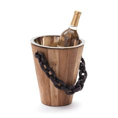 Black Chain Ice Bucket