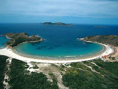 Praia das Conchas - Cabo Frio (Brazil) - Where I ate many, may shrimps drinking cold beer...  Delicious beach!