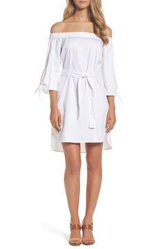 b2eb9ac3670 Off the Shoulder Dress Ivory Dresses