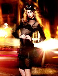 Jessica Clarke by Derek Kettela for Amica November 2011