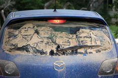 Blog: Dirty Car Art - Doodlers Anonymous
