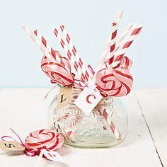 Personalised Pink Swirly Lollipop - cakes & treats