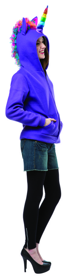 b1d14e2393  16012 HaHa Hoodie Purple Unicorn is a great holiday costume or great for  gay pride