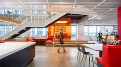 US studio Clive Wilkinson Architects has completed a new Texas office for GLG that features an open-office plan and a variety of communal workspaces.