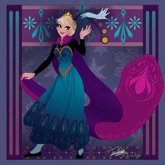 #elsa #frozen #disney #queen