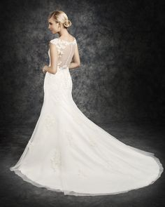 Ella Rosa Style BE310 #bridal #weddingdress