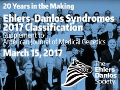 'Most neglected disorder in modern medicine' receives major classification update | The Ehlers Danlos Society