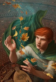 "Kvothe - ""The Calling"" by Beth Sobel 
