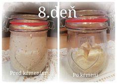 "...svet okolo mňa ...: Príprava kvásku Lievito-Madre 2....""10.dňový"" Mason Jars, Canning Jars, Glass Jars, Jars, Mason Jar"