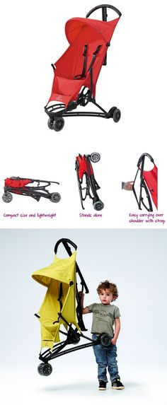 Quinny Yezz Stroller - less than 12 pounds and compact.