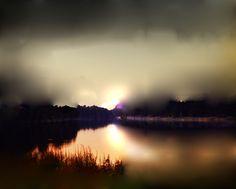 The Lake, Morning Fog   Maurice Sapiro