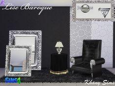 Khany Sims - Set décoration - Sims 4 - Deco set