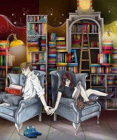 La nostra Biblioteca delle Donne, uno spazio per riempire il nostro tempo libero con un po' di consigli sui libri da leggere, recensioni, opinioni e... (Illustraz. di Jill Francis)