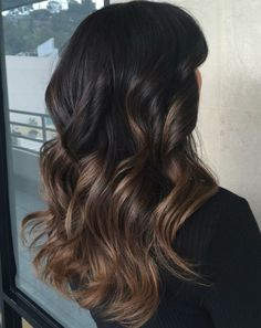 Black Hair The 50 Sizzling Ombre Hair Color Solutions for Blond, Brown, Red and Black Hair . The 50 Sizzling Ombre Hair Color Solutions for Blond, Brown, Red and Black Hair Black Hair Ombre, Ombre Blond, Best Ombre Hair, Brown Blonde Hair, Ombre Hair Color, Hair Color Balayage, Brown Hair Colors, Brunette Ombre Balayage, Brunette Highlights