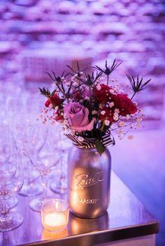 wedding floral decor idea; photo: AMC Photography