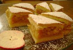 Bámulatos almás kavart tészta – nagyon egyszerű, mégis Fölséges! Slab Pie, Sweet Cookies, Hungarian Recipes, Pie Recipes, No Cook Meals, Macarons, Cornbread, Fudge, Cheesecake
