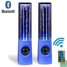 SoundSOUL Bluetooth altoparlanti acqua anima - Blu