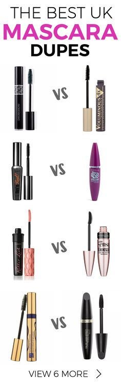 Flutter those lashes for less with our list of the best UK Mascara Dupes!