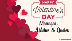 Happy Valentines Day Messages, Quotes and Wishes – Valentine Week List 2020 Best Valentine Message, Valentine Wishes, Valentines Day Messages, Happy Valentines Day, Wish Quotes, Greeting Cards, Romantic, Boyfriend, Language
