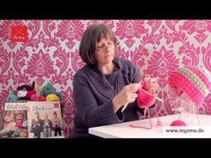 Stricken lernen mit den Omas - DIY Beanie Mütze für Anfänger 3/7: Rechte Maschen stricken - http://stricken-leicht-gemacht.1pic4u.com/2014/10/22/stricken-lernen-mit-den-omas-diy-beanie-muetze-fuer-anfaenger-37-rechte-maschen-stricken/