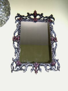 Vintage Syrocco Parisian Mirror  Free Shipping by antique2chic, $135.00