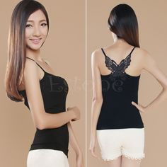 USD 10.47/pieceUSD 8.34/pieceUSD 12.43/pieceUSD 10.99/pieceUSD 7.69/pieceUSD 4.38/pieceUSD 4.90/piece 100% brand new and high quality Sexy , fashion , beautiful and comfortable Material: Modal Color: Black/ White Size: One Size Length: 49 cm/ 19.29″ (Approx.) Width: 60 cm/ 23.62″ (Approx.) (Strong elasticity, no bust limit) Quantity: 1Pc Note: The vest's chest is not included sponge/pad Size ...