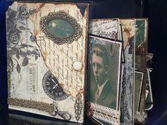 ~ Drop Dead Gorgeous Altered Cigar Box ~ For Nanny's stuff Cigar Box Art, Cigar Box Crafts, Dvd Case Crafts, Altered Cigar Boxes, Friend Birthday, 50th Birthday, Birthday Gifts, Altered Book Art, Dead Gorgeous