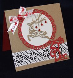 Signature Dies - Christmas 2015 Card 1 - Joanna Sheen Project