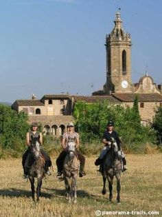 Your horse will carry you along the Costa Brava trails in the northeastern region of Spain. Your ride will traverse on narrow cobblestone streets of medieval villages. Open fields of rice and marshland along with the vast Mediterranean beach will encourage invigorating canters. Hidden mountain passes will ascend the Montgri Massif Mountain where you will …