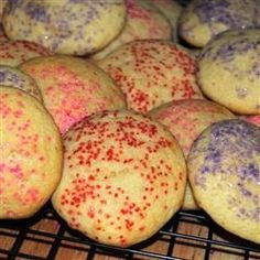 Old Time Soft Sugar Cookies