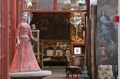 One of the showrooms at La Fabrica La Aurora Design center