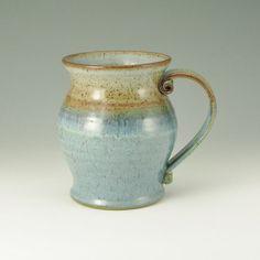 STEIN 32 Ounce Coffee Mug Pottery Beer Tankard by TwistedRiverClay, $42.00