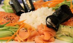 Deconstructed Sushi Salad Platter : Local : The Home Channel