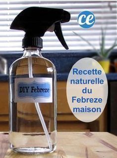 Easy and Economical: The Natural Recipe of Homemade Febreze. Homemade Cleaning Products, Cleaning Recipes, Natural Cleaning Products, Cleaning Hacks, Homemade Febreze, Cleaners Homemade, Febreze Spray, Limpieza Natural, Oil Diffuser