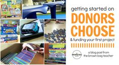 Tired of spending hundreds of dollars each year on your classroom? Check out ways to use Donors Choose to fund the materials your students need to learn!