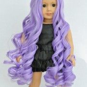 """Essential Lavender"" premium doll wig available in our store!"